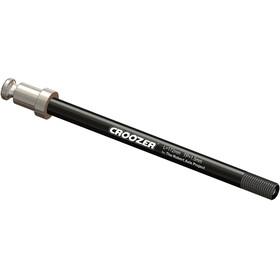 Croozer Click & Crooz M12x1,5 inbouwbreedte 172mm zwart/zilver